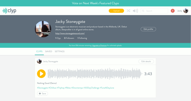 Stoneygate's Clyp Profile