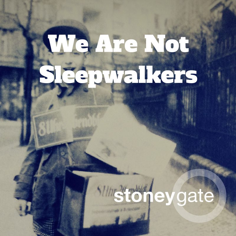 We Are Not Sleepwalkers - A playlist to motivate you to make the world around you a better place.