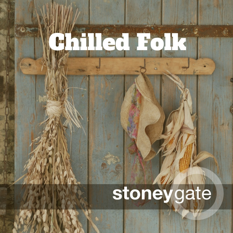 Chilled out folk and indie music playlist
