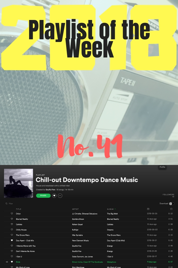 POTW No 41: Soulful Fox's Chill-out Downtempo Dance Music
