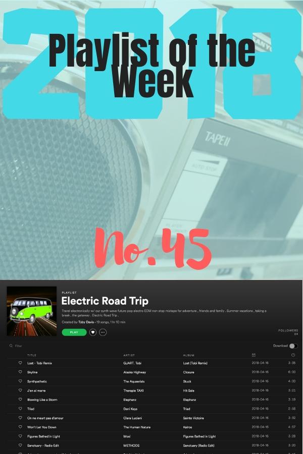 #POTW No 45: Electric Road Trip by Tobi