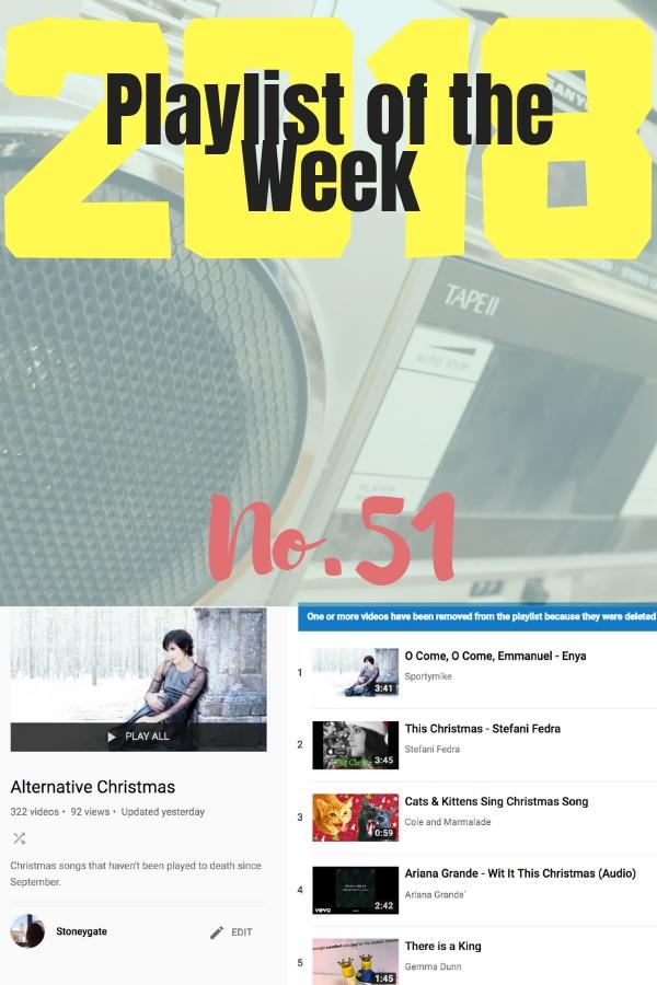 Playlist of the Week No 51, 2018: Stoneygate's Alternative Christmas